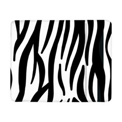 Seamless Zebra A Completely Zebra Skin Background Pattern Samsung Galaxy Tab Pro 8 4  Flip Case