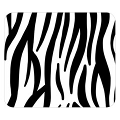 Seamless Zebra A Completely Zebra Skin Background Pattern Double Sided Flano Blanket (small)