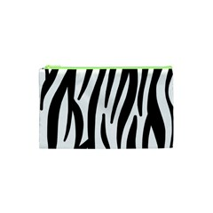 Seamless Zebra A Completely Zebra Skin Background Pattern Cosmetic Bag (xs)