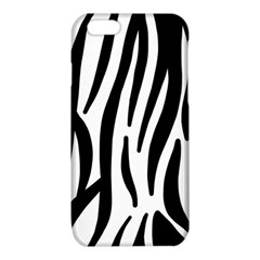 Seamless Zebra A Completely Zebra Skin Background Pattern iPhone 6/6S TPU Case