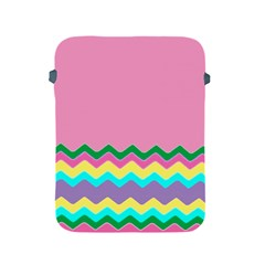 Easter Chevron Pattern Stripes Apple Ipad 2/3/4 Protective Soft Cases