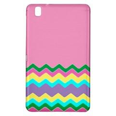 Easter Chevron Pattern Stripes Samsung Galaxy Tab Pro 8 4 Hardshell Case