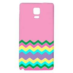 Easter Chevron Pattern Stripes Galaxy Note 4 Back Case