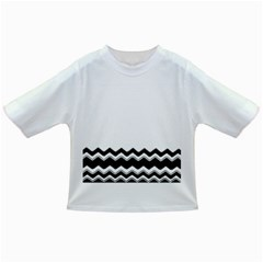 Chevrons Black Pattern Background Infant/toddler T Shirts