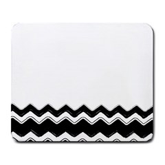Chevrons Black Pattern Background Large Mousepads