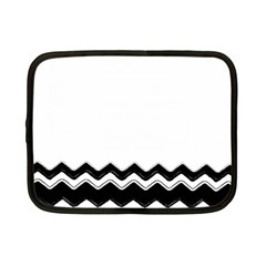 Chevrons Black Pattern Background Netbook Case (small)