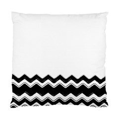 Chevrons Black Pattern Background Standard Cushion Case (one Side)