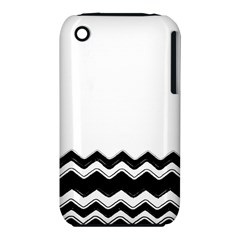 Chevrons Black Pattern Background Iphone 3s/3gs