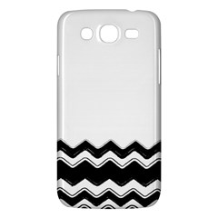Chevrons Black Pattern Background Samsung Galaxy Mega 5 8 I9152 Hardshell Case