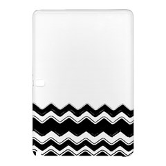 Chevrons Black Pattern Background Samsung Galaxy Tab Pro 12 2 Hardshell Case