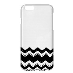 Chevrons Black Pattern Background Apple Iphone 6 Plus/6s Plus Hardshell Case