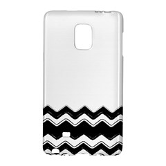 Chevrons Black Pattern Background Galaxy Note Edge
