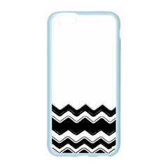 Chevrons Black Pattern Background Apple Seamless iPhone 6/6S Case (Color)