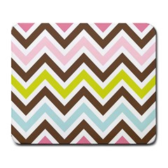 Chevrons Stripes Colors Background Large Mousepads