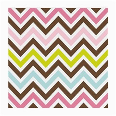 Chevrons Stripes Colors Background Medium Glasses Cloth