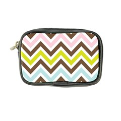 Chevrons Stripes Colors Background Coin Purse