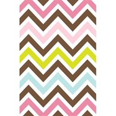 Chevrons Stripes Colors Background 5 5  X 8 5  Notebooks