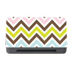 Chevrons Stripes Colors Background Memory Card Reader With Cf
