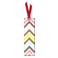 Chevrons Stripes Colors Background Small Book Marks