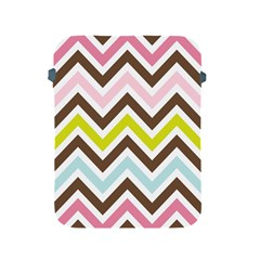 Chevrons Stripes Colors Background Apple Ipad 2/3/4 Protective Soft Cases