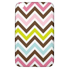 Chevrons Stripes Colors Background Samsung Galaxy Tab 3 (8 ) T3100 Hardshell Case