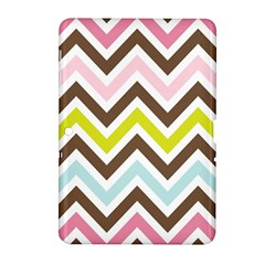 Chevrons Stripes Colors Background Samsung Galaxy Tab 2 (10 1 ) P5100 Hardshell Case