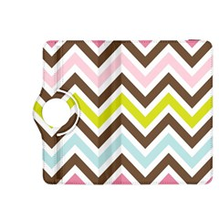 Chevrons Stripes Colors Background Kindle Fire Hdx 8 9  Flip 360 Case
