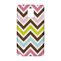 Chevrons Stripes Colors Background Samsung Galaxy Note 4 Hardshell Case