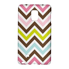 Chevrons Stripes Colors Background Galaxy Note Edge