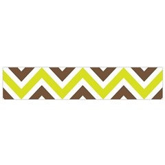 Chevrons Stripes Colors Background Flano Scarf (Small)