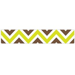 Chevrons Stripes Colors Background Flano Scarf (Large)