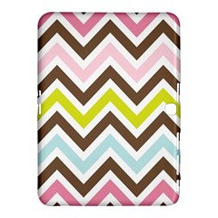Chevrons Stripes Colors Background Samsung Galaxy Tab 4 (10 1 ) Hardshell Case