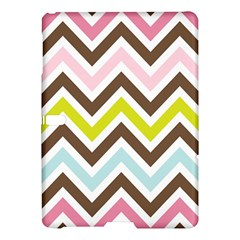 Chevrons Stripes Colors Background Samsung Galaxy Tab S (10.5 ) Hardshell Case
