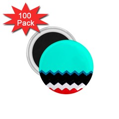 Pattern Digital Painting Lines Art 1 75  Magnets (100 Pack)