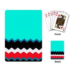 Pattern Digital Painting Lines Art Playing Card