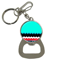 Pattern Digital Painting Lines Art Button Necklaces