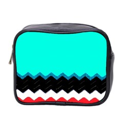 Pattern Digital Painting Lines Art Mini Toiletries Bag 2-Side