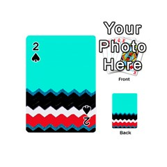 Pattern Digital Painting Lines Art Playing Cards 54 (mini)