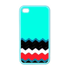 Pattern Digital Painting Lines Art Apple Iphone 4 Case (color)