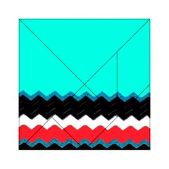 Pattern Digital Painting Lines Art Acrylic Tangram Puzzle (6  X 6 )