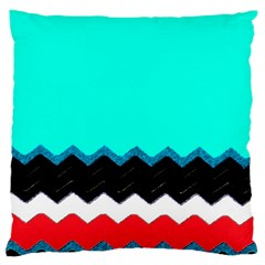 Pattern Digital Painting Lines Art Large Cushion Case (Two Sides)