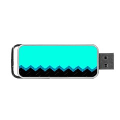 Pattern Digital Painting Lines Art Portable Usb Flash (one Side)