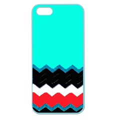 Pattern Digital Painting Lines Art Apple Seamless Iphone 5 Case (color)
