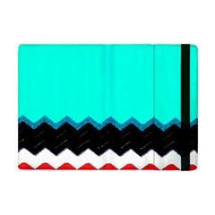 Pattern Digital Painting Lines Art Apple Ipad Mini Flip Case