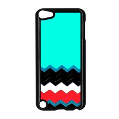 Pattern Digital Painting Lines Art Apple Ipod Touch 5 Case (black)