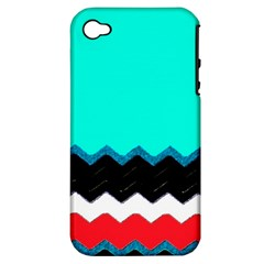 Pattern Digital Painting Lines Art Apple Iphone 4/4s Hardshell Case (pc+silicone)