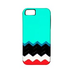 Pattern Digital Painting Lines Art Apple Iphone 5 Classic Hardshell Case (pc+silicone)
