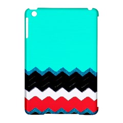 Pattern Digital Painting Lines Art Apple Ipad Mini Hardshell Case (compatible With Smart Cover)