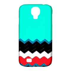Pattern Digital Painting Lines Art Samsung Galaxy S4 Classic Hardshell Case (pc+silicone)