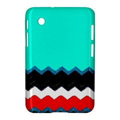 Pattern Digital Painting Lines Art Samsung Galaxy Tab 2 (7 ) P3100 Hardshell Case